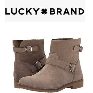 Lucky Brand Galvann Ankle Boot Size 9 in Tan